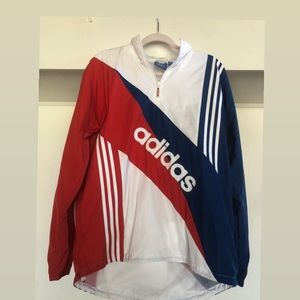 Adidas retro Wind Jacket Red, Blue, White